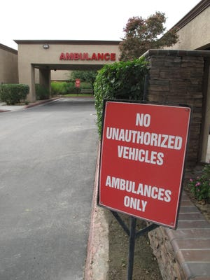 A man nearly drowned Saturday in Palm Desert.