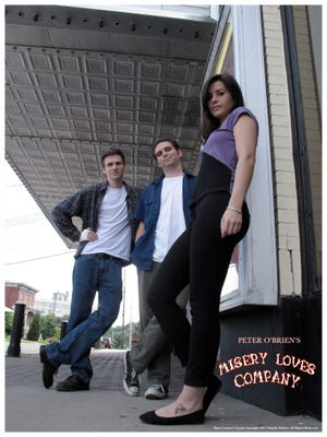 """""""Misery Loves Company"""" is a romantic coming-of-age comedy about a recently dumped movie projectionist looking for love and answers. The film was written and directed by Peter O'Brien, an independent filmmaker from Congers."""