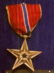 The Bronze Star given to Anthony George Ferlino, for