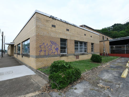 This building at 906 Sevier Ave. is being redeveloped