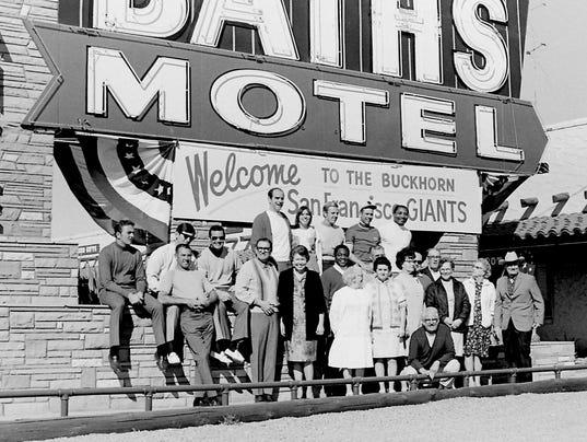 Giants at Buckhorn Baths