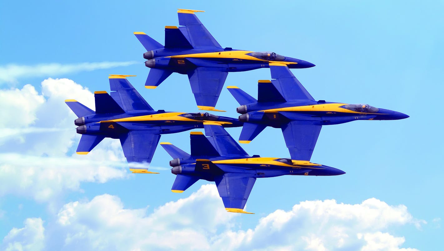 How to View a Blue Angels Airshow