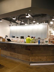 Restaurant area at MadTree's new brewery on Madison Road in Oakley.