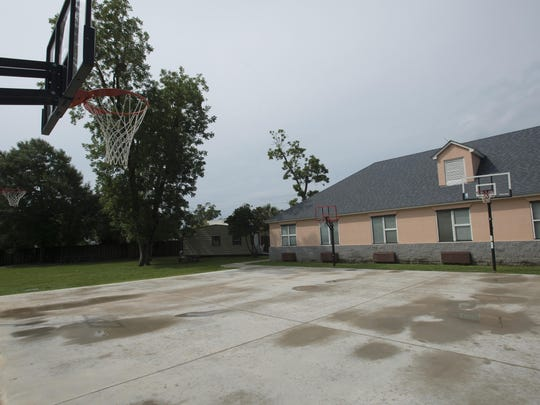 The Meridian of Lakeview Center now has new basketball courts for its inpatient residents to use. The $15,000 playground area was built and funded by a donation from the Auxiliary Council of the Home Builder Assoc. of West Fla.
