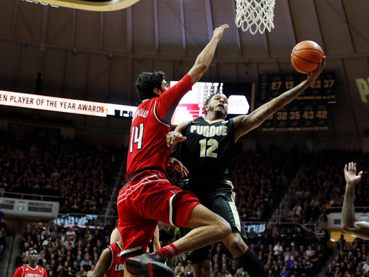 NCAA Basketball: Louisville at Purdue