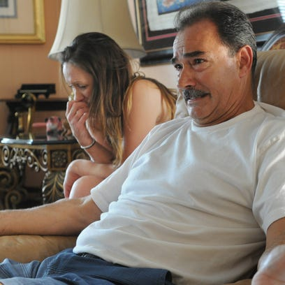 Anthony Mele Sr., talks about his son, 35-year-old