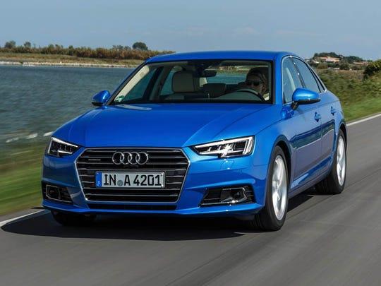 2017 Audi A4 (European model)