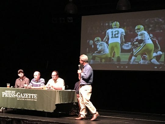 Members of the PackersNews team take part in an Insider