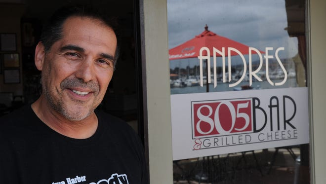 Andres Fernandez, the owner of 805 Bar & Grilled Cheese, is one of close to 40 business owners who provide discounts, jobs and other services to foster families.