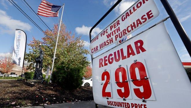 Cheaper gasoline is boosting consumer spending.