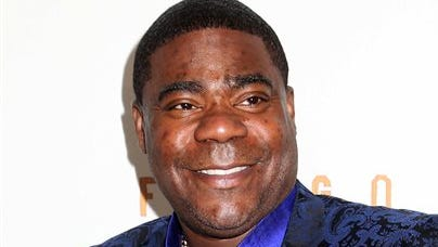 """Tracy Morgan attends the FX Networks Upfront premiere screening of """"Fargo"""" at the SVA Theater in New York. Wal-Mart has denied claims by lawyers for actor-comedian Morgan that the company is stalling a federal lawsuit over a fatal highway crash in New Jersey last summer. In a court filing Monday, attorneys for Morgan opposed a motion by Wal-Mart driver Kevin Roper to intervene in the case."""