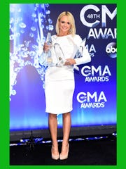 NASHVILLE, TN - NOVEMBER 05:  Miranda Lambert poses