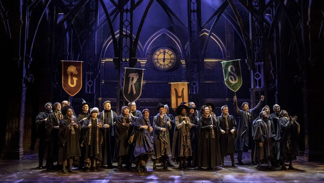 The London cast of 'Harry Potter and the Cursed Child.'