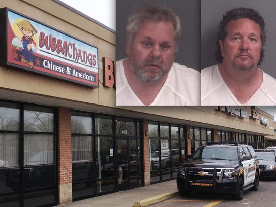 Bubba Changs owners, Jeremy Hamilton and Johnnie Hamilton,