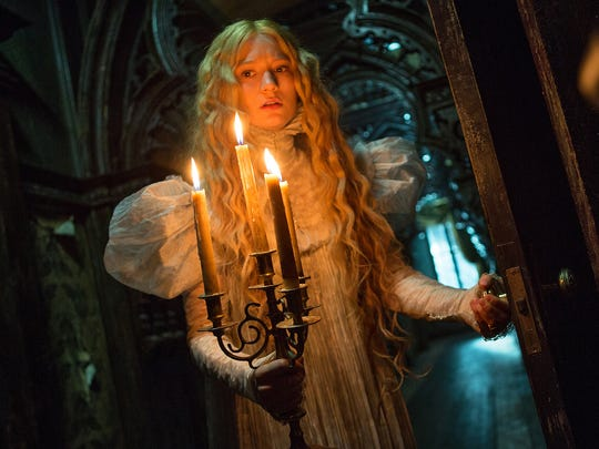 """Mia Wasikowska stars in Guillermo del Toro's gothic romance """"Crimson Peak."""""""