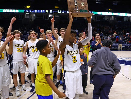 Moeller vs Wayne Basketball Regional Final
