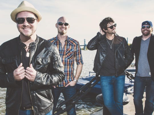 The Eli Young Band performed in a supporting role at