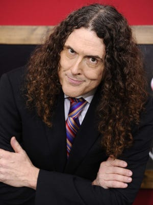 """In this June 20, 2011 file photo, Weird Al Yankovic attends the premiere of """"Bad Teacher"""" at The Ziegfeld Theater, in New York. Yankovic's released his 13th album, """"Alpocalypse,"""" in June. (AP Photo/Peter Kramer, file)"""