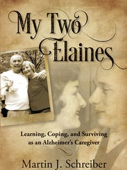 "Marty Schreiber's book, ""My Two Elaines."""