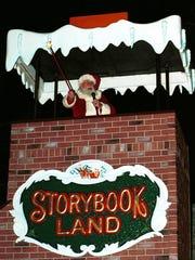 Santa will arrive at Storybook Land, 6415 Black Horse