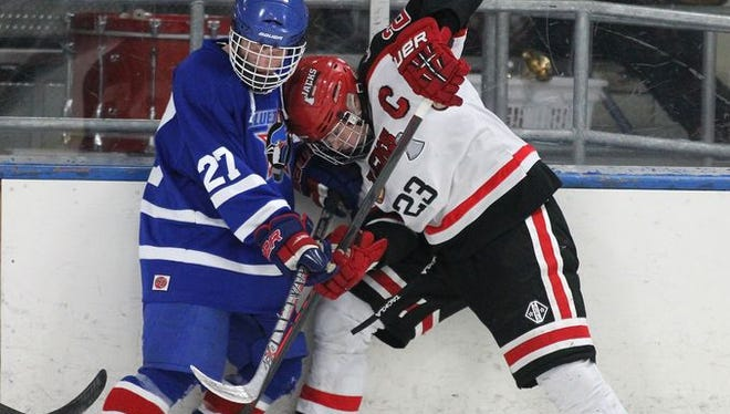 The Wausau East and Merrill boys hockey teams have been Wisconsin Valley Conference opponents since 2010-11. The two schools are pursuing a co-op program for next season.
