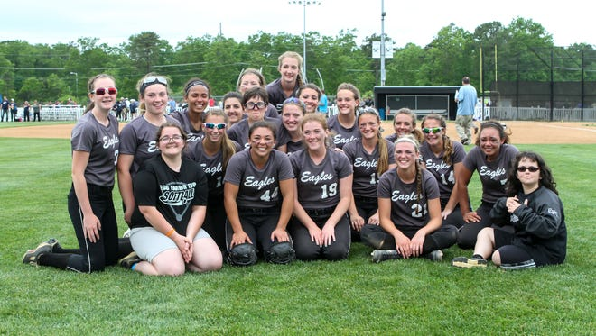 Egg Harbor Township is the Courier-Post Softball Team of the Year.