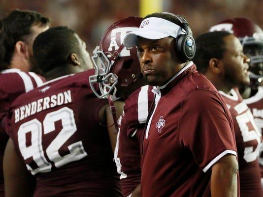 NCAA Football: Rice at Texas A&M