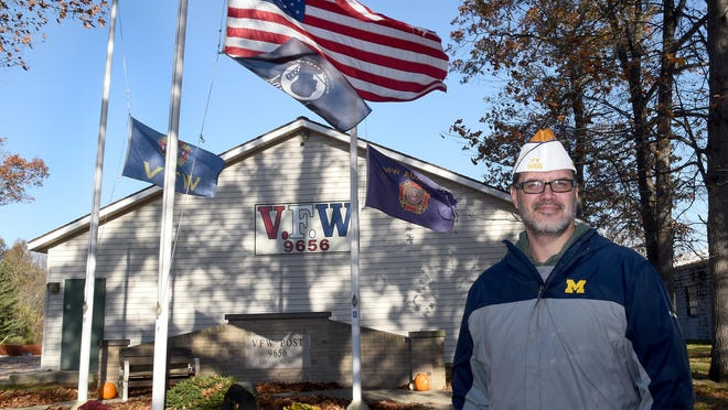 Bryan Gawecki is commander of VFW Post 9656 in Lambertville, as well as the Junior Vice Commander for District 6, which includes Monroe, Lenawee, Jackson, Washtenaw, Livingston and Ingham counties.