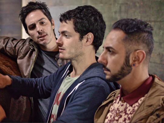 Raúl (Mauricio Ochmann, from left), Santiago (Alfonso