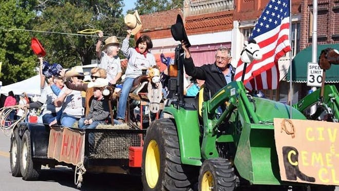 The annual Heritage Day parade will roll through the streets of downtown Caddo on Oct. 3.