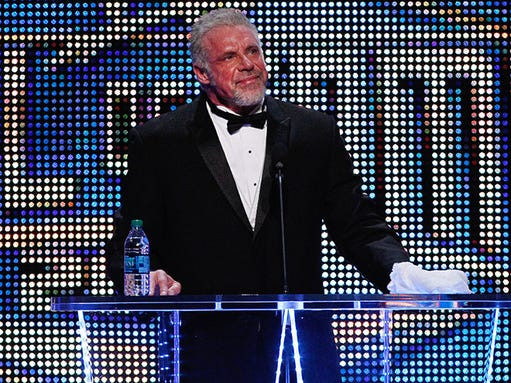 AP WWE Hall of Fame Induction Ceremony