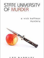 """State University of Murder"" by Okemos author Lev Raphael"