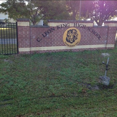 A student has been stabbed at C. Leon King High School