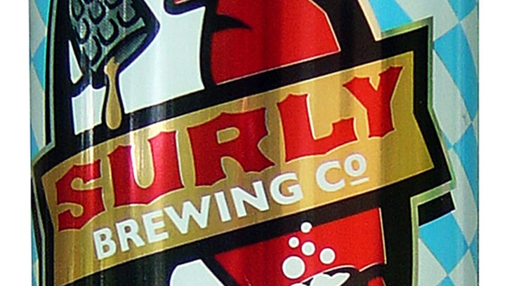 SurlyFest Lager, from Surly Brewing Co. in Brooklyn