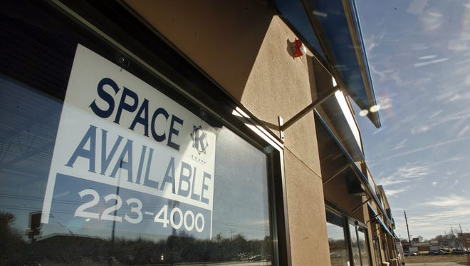A vacant space in the Eastgate Plaza strip mall is shown in a 2006 photo.