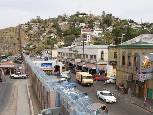 Nogales Border Port of Entry & Fence
