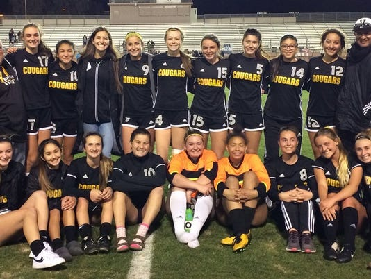 Ventura High girls soccer