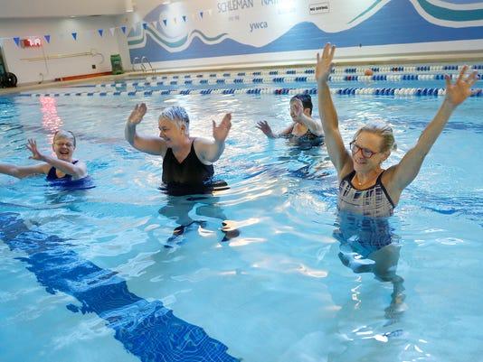 LAF Explore Lafayette: Water Walking, Aqua Zumba
