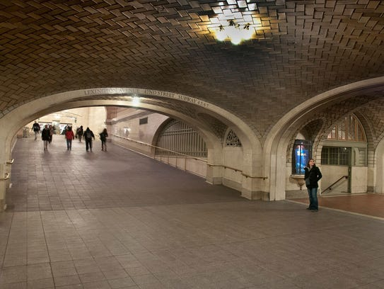 Grand Central Terminal The Whispering Gallery's design