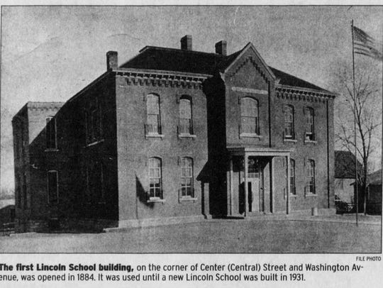 This was the first Lincoln School, the school for black