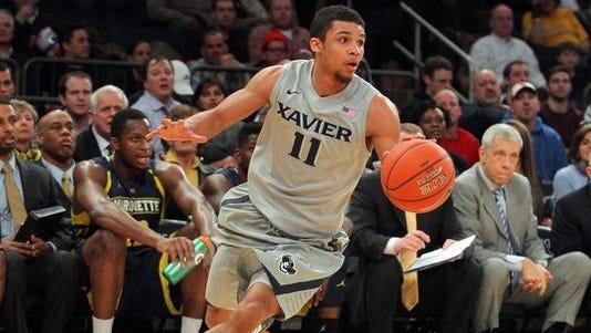 Dee Davis will be one of two seniors on Xavier's men's basketball team.