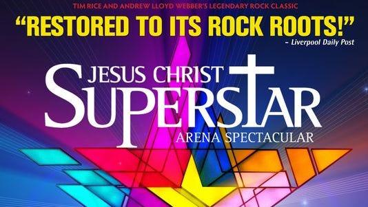 "Poster from ""Jesus Christ Superstar Arena Spectacular"""