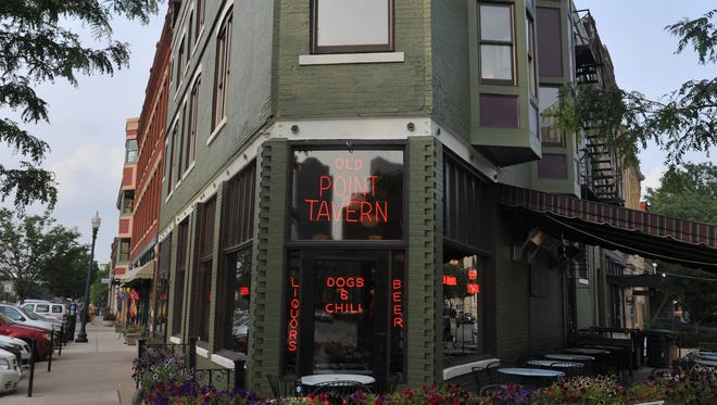 Old Point Tavern on Massachusetts Ave. June 30, 2014.