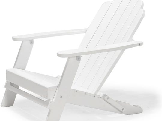 Cape Cod White Adirondack Chair from Houzz