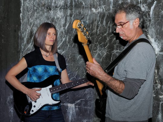 Erin Hobson and Steven W. Ross of the Red Hook band,