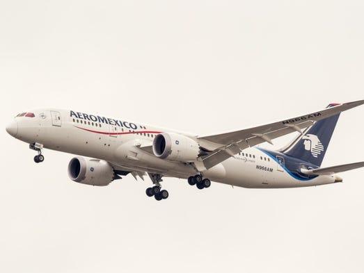 No. 20: Mexico City-Tokyo Narita (6,990 miles); Aeromexico.