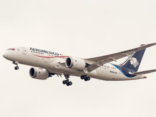 Longest flights on boeing 787 dreamliners see the top 20 no 20 mexico city tokyo narita 6990 miles aeromexico sciox Images
