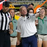 There are many things Notre Dame coach Brian Kelly has seen on the field this season that are difficult to explain.