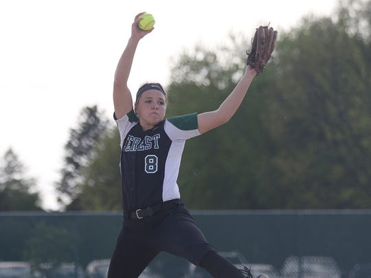D.C Everest's Miranda Gajewski capped her prep softball