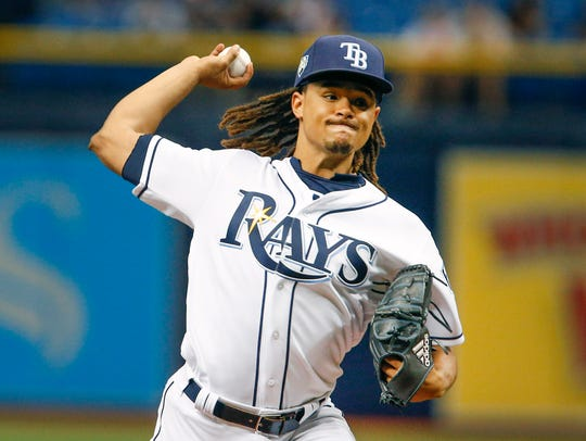 5. Chris Archer, Rays, starting pitcher